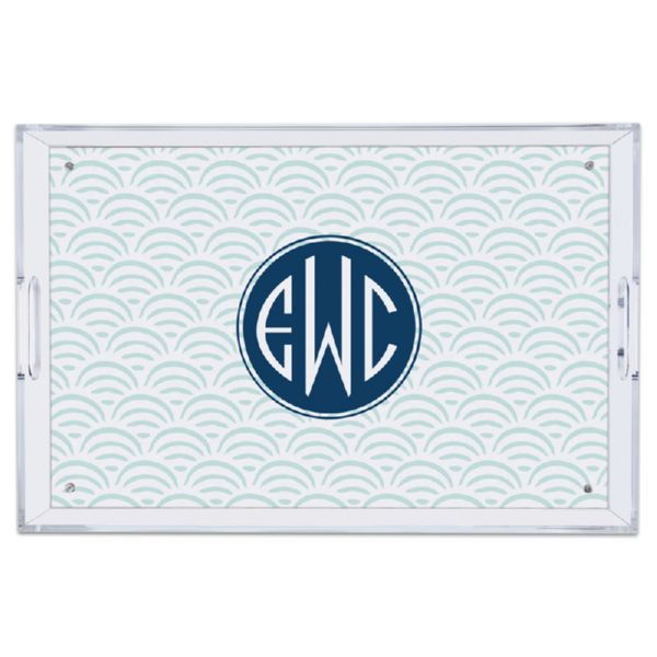 Ella Personalized Large Serving Tray (Lucite)