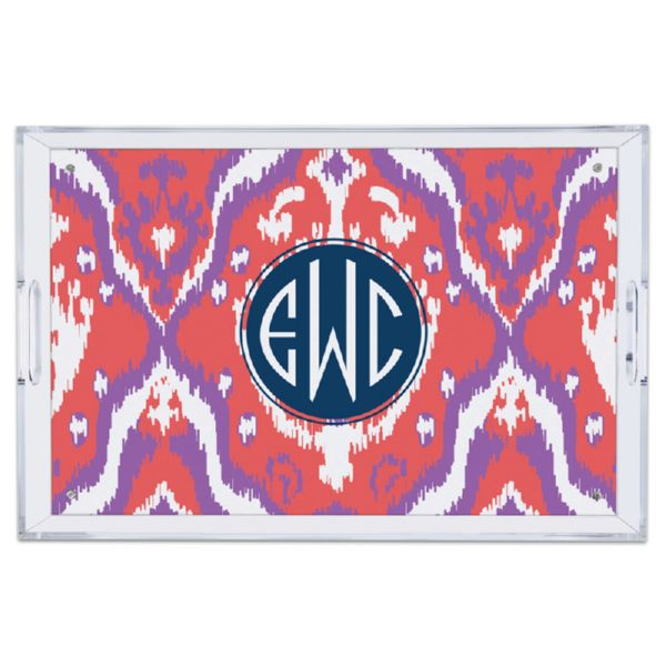 Elsie Personalized Large Serving Tray (Lucite)