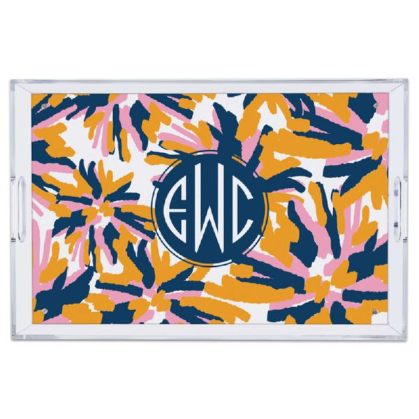Fireworks Personalized Large Serving Tray (Lucite)