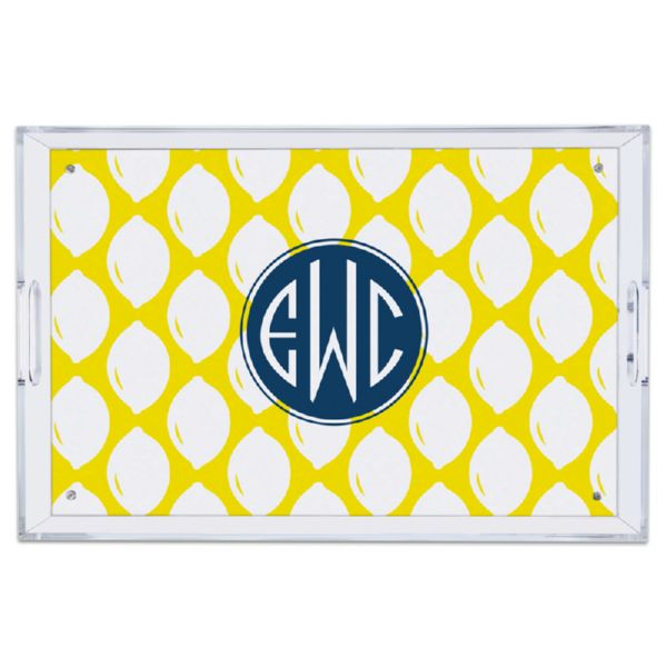 Meyer Personalized Large Serving Tray (Lucite)