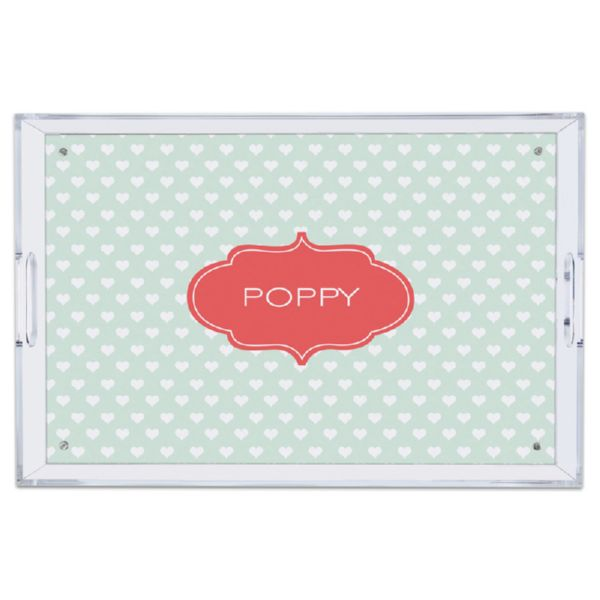 Minnie Personalized Large Serving Tray (Lucite)