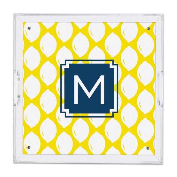 Meyer Personalized Square Serving Tray (Lucite)