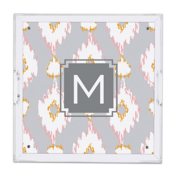 Mirage Personalized Square Serving Tray (Lucite)