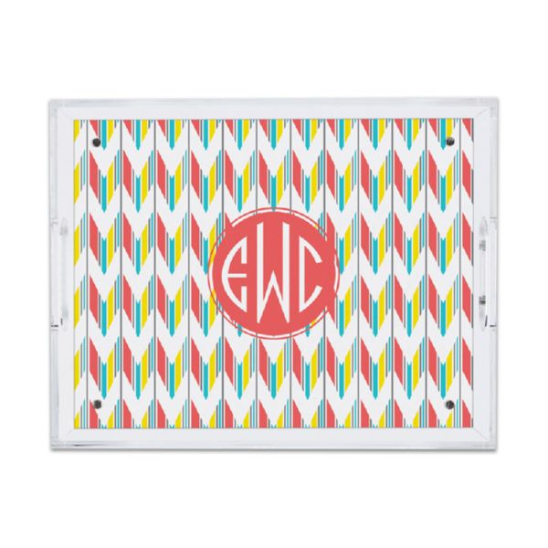 Arrowhead Personalized Small Serving Tray (Lucite)
