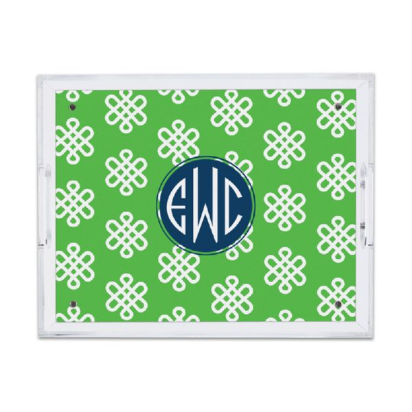 Clementine Personalized Small Serving Tray (Lucite)