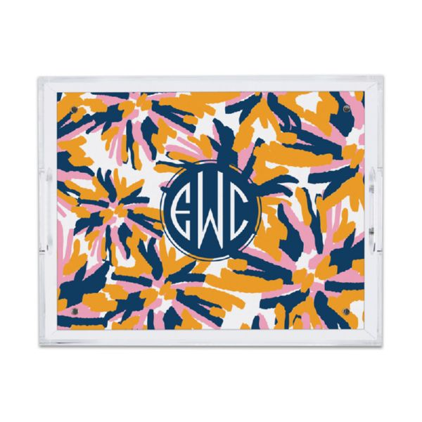 Fireworks Personalized Small Serving Tray (Lucite)
