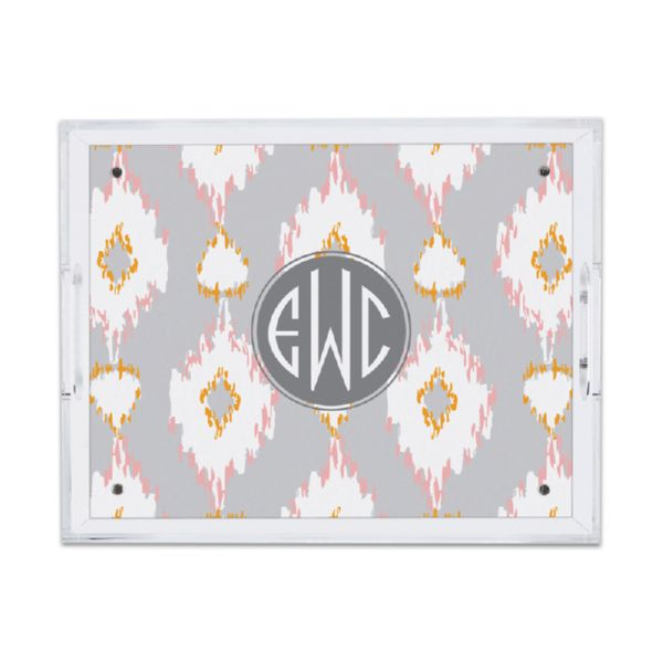 Mirage Personalized Small Serving Tray (Lucite)