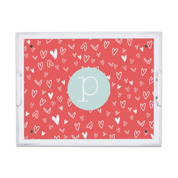 Love It Personalized Small Serving Tray (Lucite)