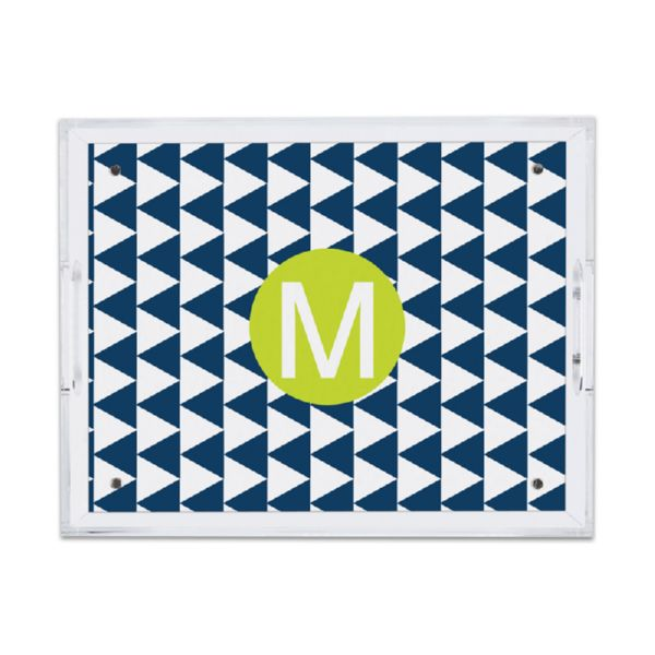 Try Me Personalized Small Serving Tray (Lucite)