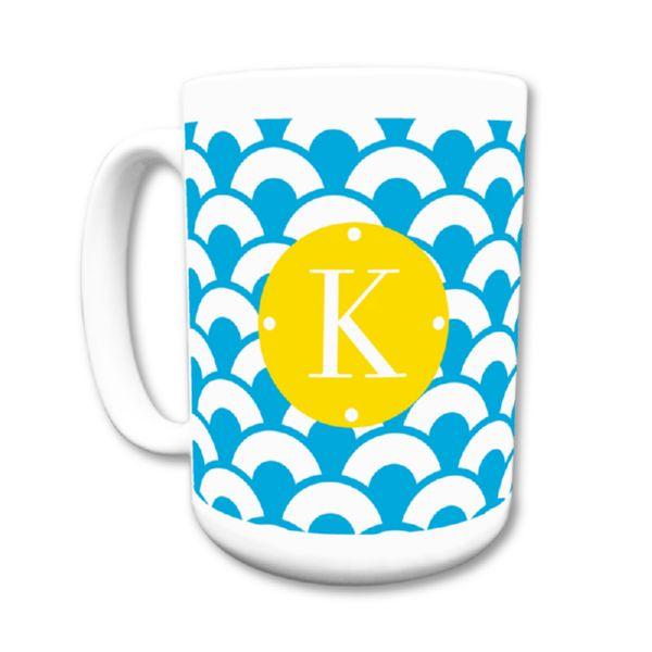 Coins Personalized Coffee Mug 15oz