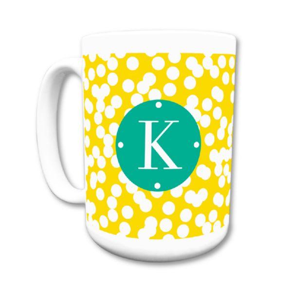 Hole Punch Personalized Coffee Mug 15oz