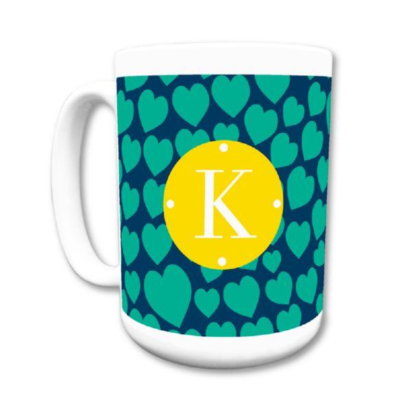 Love Struck Personalized Coffee Mug 15oz