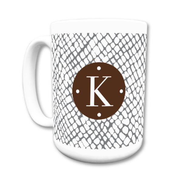 Snakeskin Personalized Coffee Mug 15oz