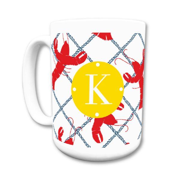 Rock Lobster Personalized Coffee Mug 15oz