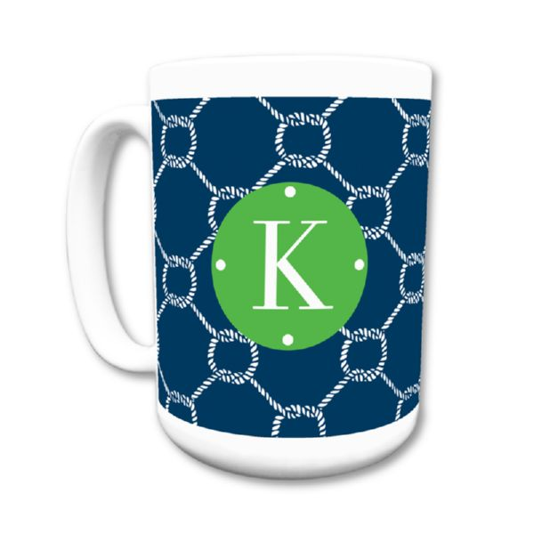 Rope Personalized Coffee Mug 15oz