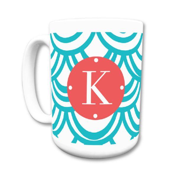Seashells Personalized Coffee Mug 15oz