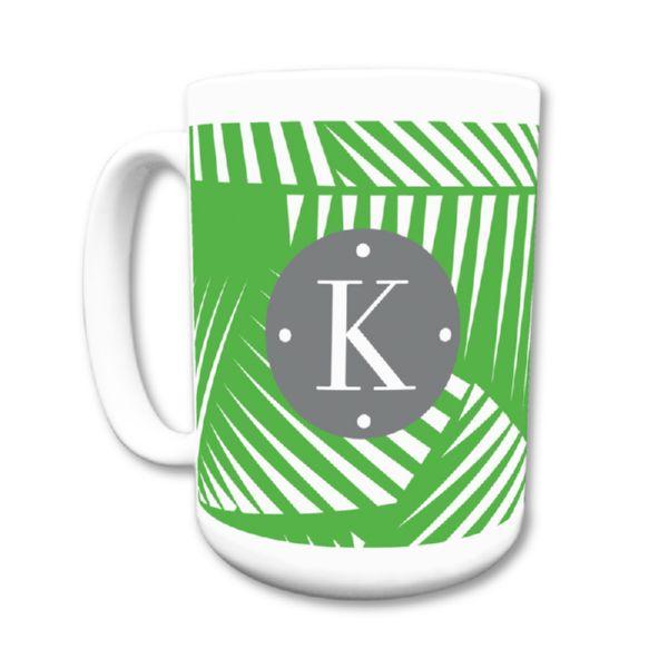 Palm Personalized Coffee Mug 15oz