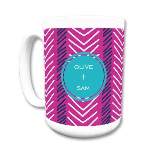 Topstitch Personalized Coffee Mug 15oz