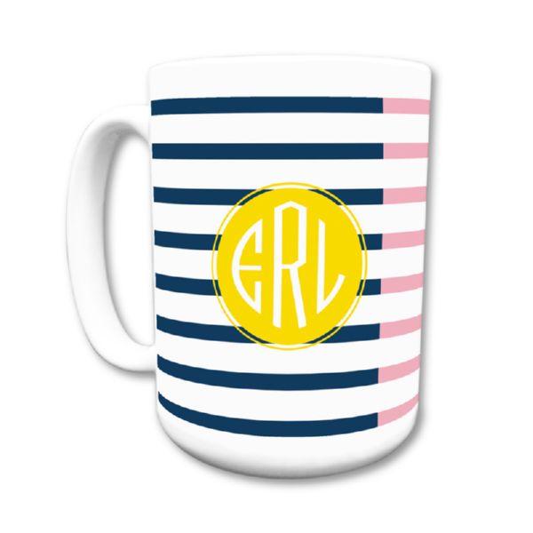 Twice As Nice 3 Personalized Coffee Mug 15oz