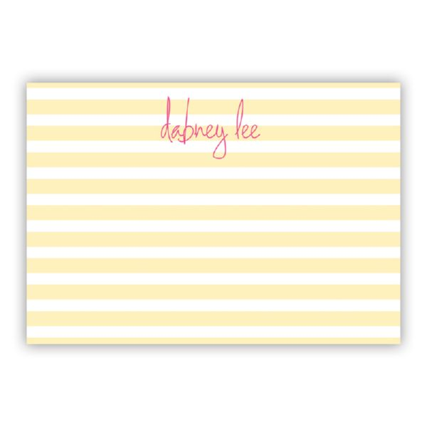 Cabana Personalized Desk Pad, 150 sheets