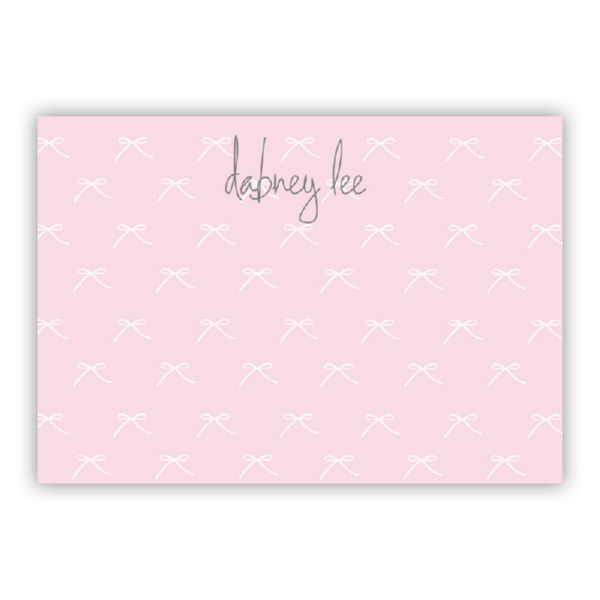Chloe Personalized Desk Pad, 150 sheets