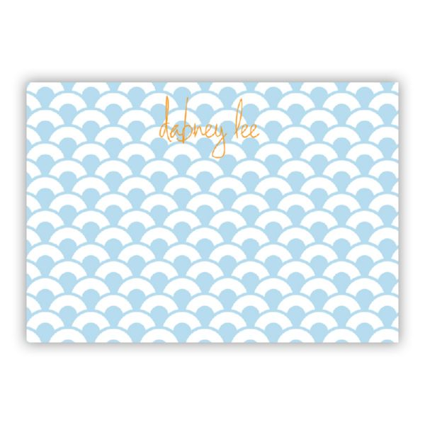 Coins Personalized Desk Pad, 150 sheets