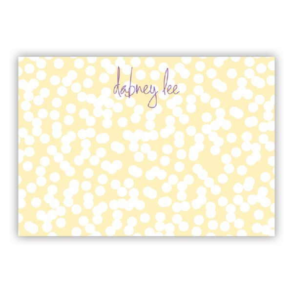 Hole Punch Personalized Desk Pad, 150 sheets