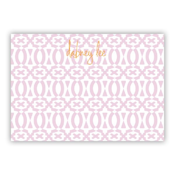 Poppy Personalized Desk Pad, 150 sheets