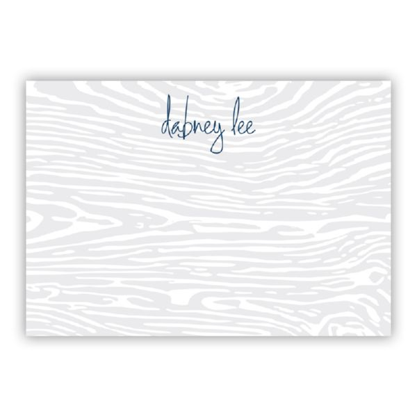 Varnish Personalized Desk Pad, 150 sheets