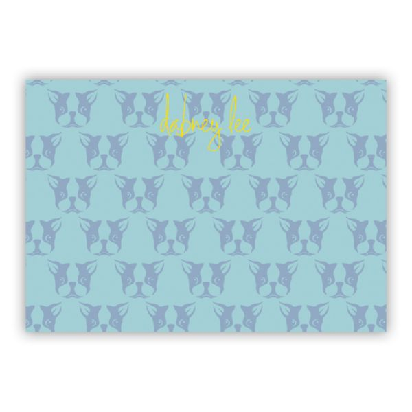 Polly Personalized Desk Pad, 150 sheets