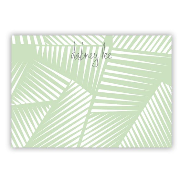 Palm Personalized Desk Pad, 150 sheets