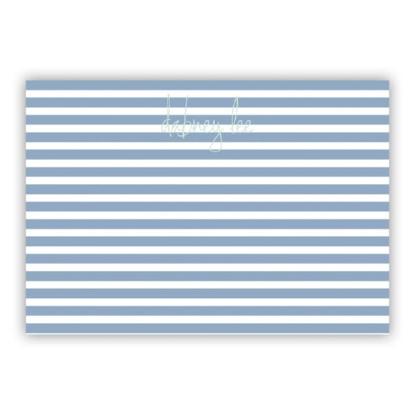 Cabana 3 Personalized Desk Pad, 150 sheets