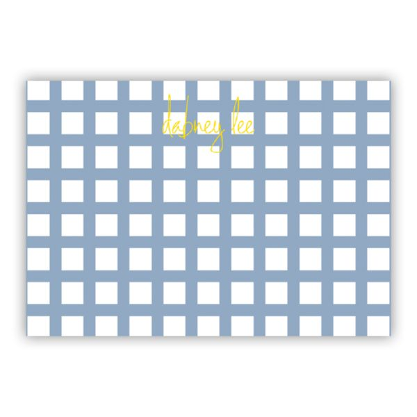 Checks & Balances Personalized Desk Pad, 150 sheets
