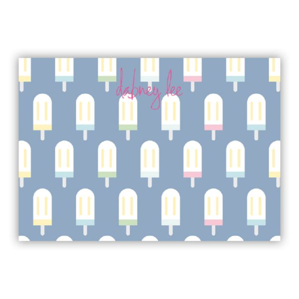 Let's Pop Personalized Desk Pad, 150 sheets