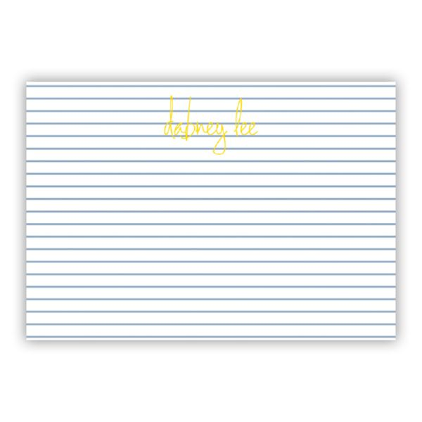 Pinny Personalized Desk Pad, 150 sheets