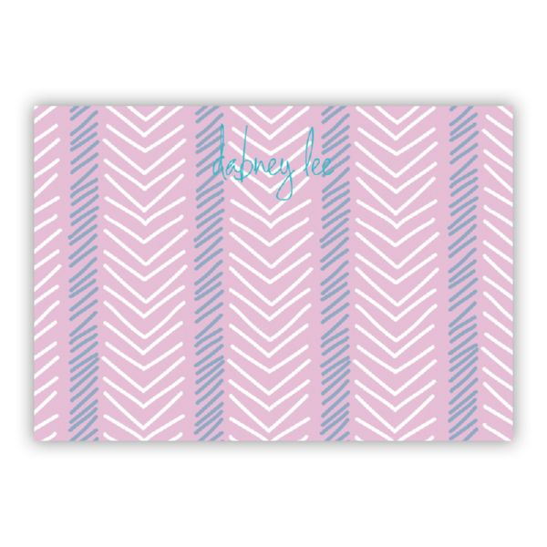 Topstitch Personalized Desk Pad, 150 sheets