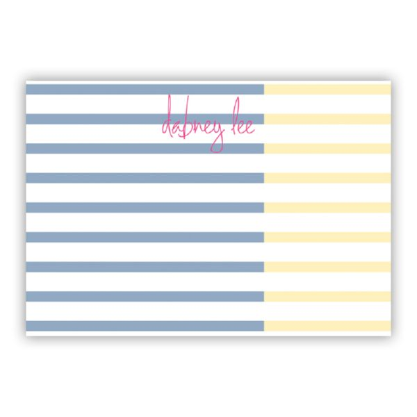 Twice As Nice Personalized Desk Pad, 150 sheets