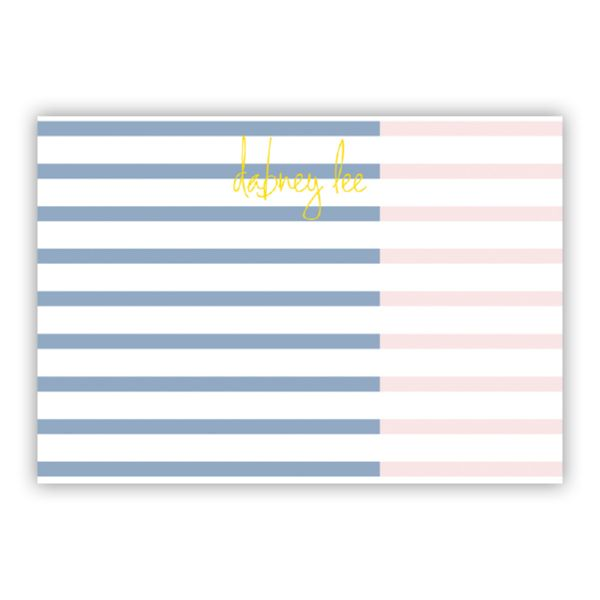 Twice As Nice 3 Personalized Desk Pad, 150 sheets