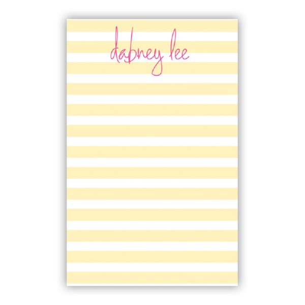 Cabana Personalized Everyday Pad, 150 sheets