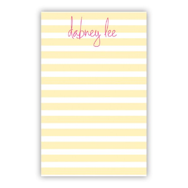 Cabana Personalized Loose Refill Note Sheets (150 sheets)