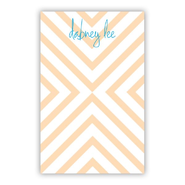 Chevron Personalized Everyday Pad, 150 sheets