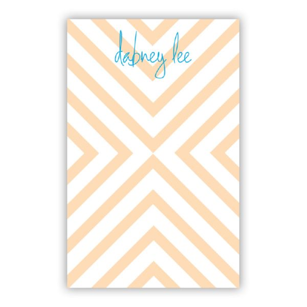 Chevron Personalized Loose Refill Note Sheets (150 sheets)