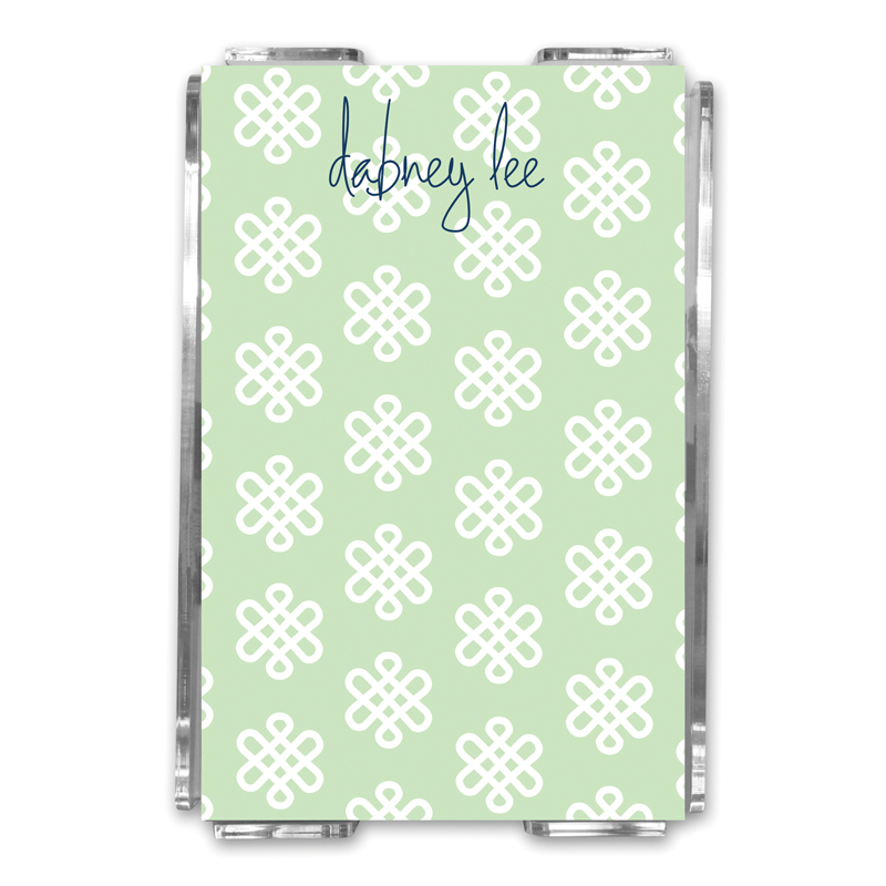 Clementine Personalized Memo Notes in Holder (150 sheets)