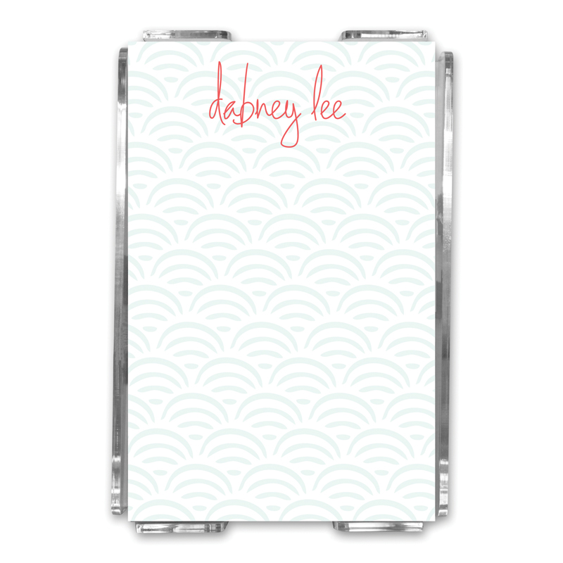 Ella Personalized Memo Notes in Holder (150 sheets)