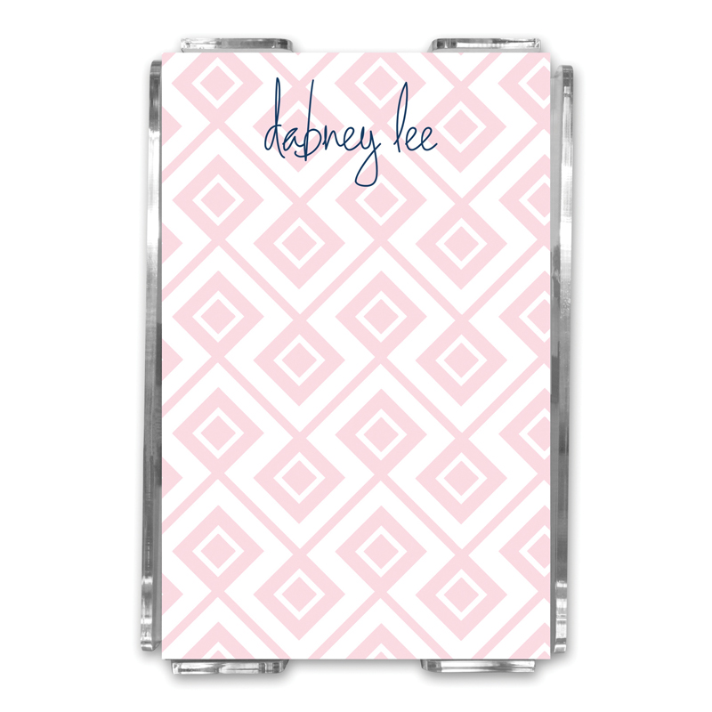 Lucy Personalized Memo Notes in Holder (150 sheets)