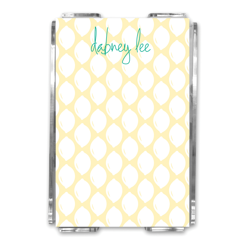 Meyer Personalized Memo Notes in Holder (150 sheets)
