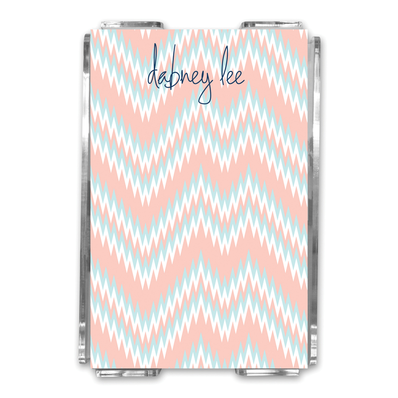Mission Fabulous Personalized Memo Notes in Holder (150 sheets)