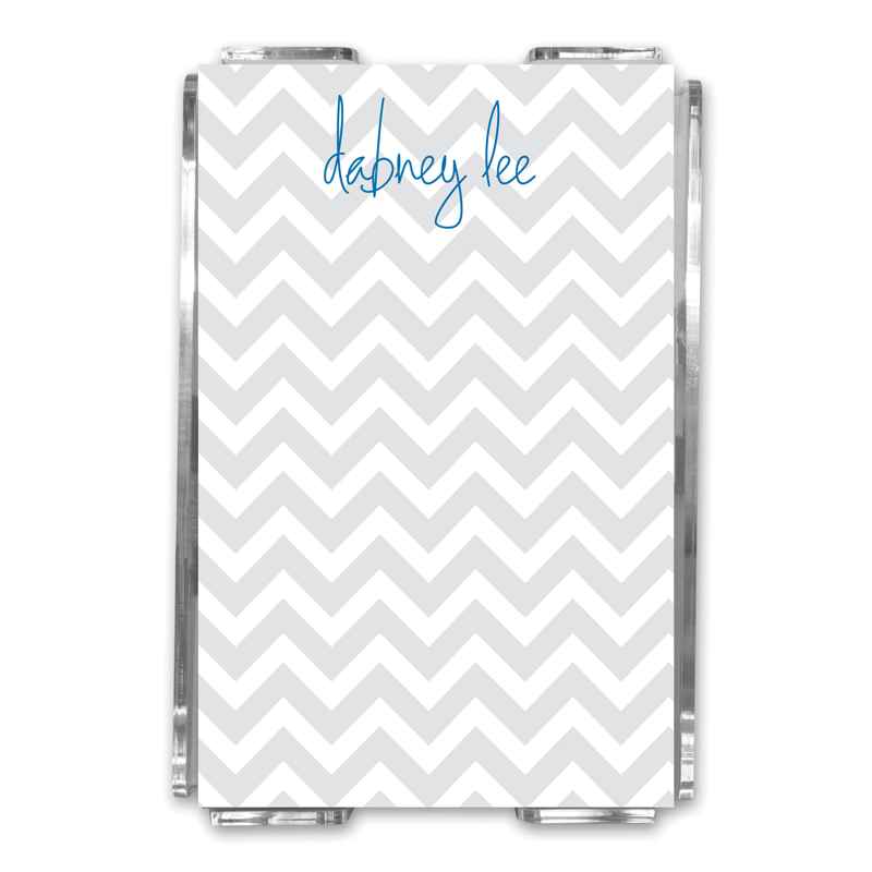 Ollie Personalized Memo Notes in Holder (150 sheets)