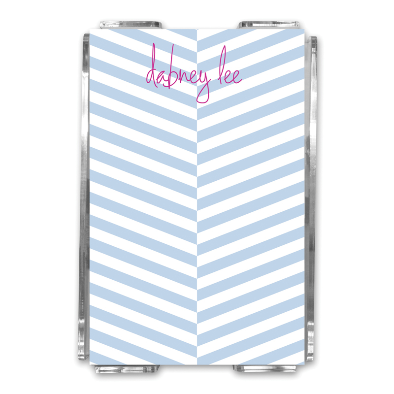 Perspective Personalized Memo Notes in Holder (150 sheets)