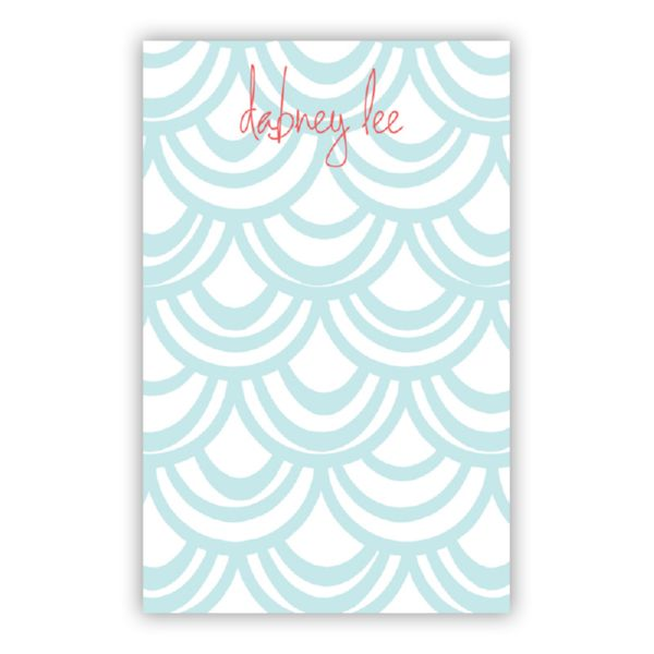 Seashells Personalized Everyday Pad, 150 sheets